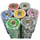 Vegas Style 11.5 Gram Casino Gambling Poker Chip Set